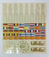 Etiquetas Adhesivas para monedas de Euro primera...