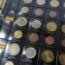 Paquete de 5 Hojas de Monedas del Euro para 15 años o paises de 186x210mm con un juego de etiquetas adhesivas