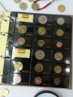1 Hoja Monedas euro 2 paises o años.