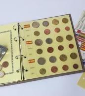 Paquete de 5 hojas de Monedas para euros de 3...