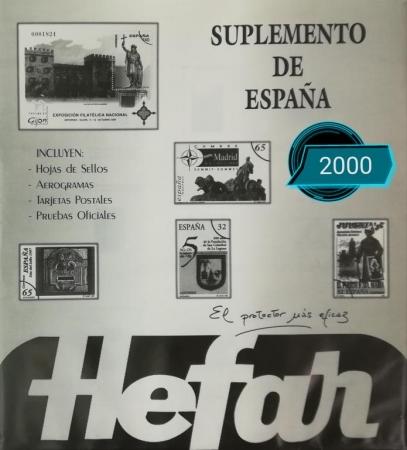 Suplemento de España 2000 sin protectores
