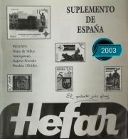 Suplemento de España 2003 sin protectores