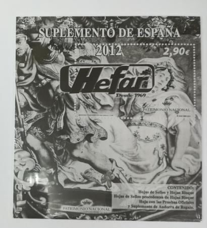 Suplemento de España 2012 sin protectores
