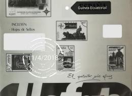 HOJAS DE SELLOS DE GUINEA ECUATORIAL