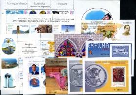 Sellos de España 2001