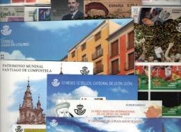SELLOS DE ESPAÑA Y ANDORRA AÑOS COMPLETOS