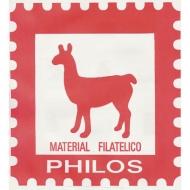 PHILOS Suplementos, Hojas de Sellos.