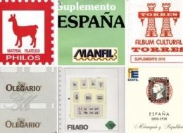 Suplementos de España por Marcas y años. Con o sin