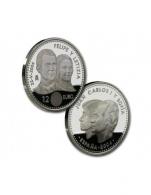 Moneda de 12 euros de plata del 2004