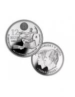 Moneda de 12 euros de plata del 2005