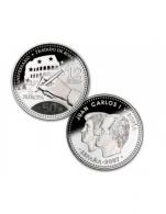 Moneda de 12 euros de plata del 2007