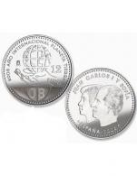 Moneda de 12 euros de plata del 2008