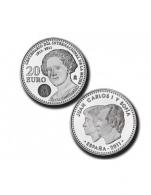 Moneda de 20 euros de plata del 2011