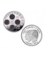 Moneda de 30 euros de plata del 2012