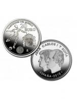Moneda de 20 euros de plata del 2010 selección...