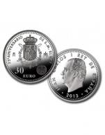 Moneda de 30 euros de plata del 2013