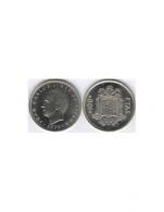 Moneda de 100 pesetas de cubro níquel del año 1975