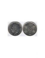 Moneda de 100 pesetas de cubro níquel del año 1980