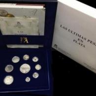 Estuche de monedas de plata de Juan Carlos I año...
