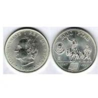 Moneda de 2000 pesetas de plata del año 1997