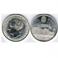 Moneda de 2000 pesetas de plata del año 1995