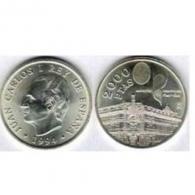 Moneda de 2000 pesetas de plata del año 1994