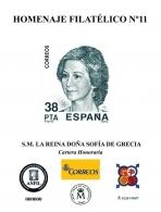 Homenaje Filatélico Nº 11. Año 2016. S.M. La Reina...
