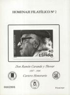 Homenaje Filatélico Nº 2 . Año 2006 Don Ramón...