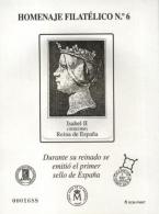 Homenaje Filatélico Nº 6. Año 2010 Isabel II....