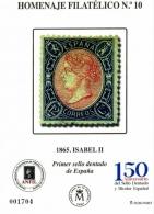 Homenaje Filatélico Nº 10. Año 2015. Primer sello...