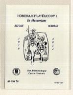 Homenaje Filatélico. Nº 8A. Año 2012 In Memorian a...