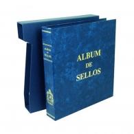 Álbum de sellos Olegario Globo Azul.