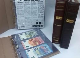 Álbum de Billetes con Hojas