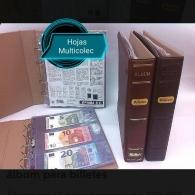 Álbum de Billetes Clasic. Con 10 Hojas