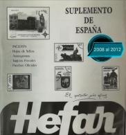Suplementos del 2008 al 2012. España