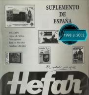 Suplementos del 1998 al 2002. España