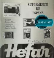 Suplementos del 1993 al 1997 España
