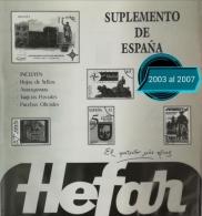 Suplementos del 2003 al 2007. España