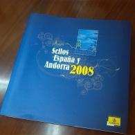 Libro de Sellos de Correos 2008