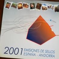 Libro de Sellos de Correos 2001