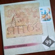 Libro de sellos de correos 1999