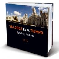 Libro de sellos de correos España y Andorra 2019....