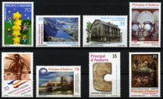 Sellos de Andorra 2000