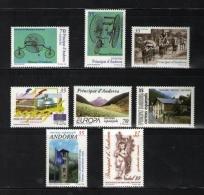 Sellos de Andorra 1999