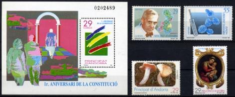 Sellos de Andorra 1994