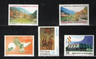 Sellos de Andorra 1995