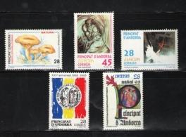 Sellos de Andorra 1993