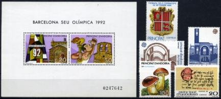 Sellos de Andorra 1987