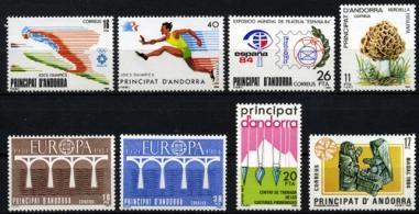 Sellos de Andorra 1984