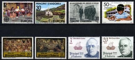 Sellos de Andorra 1981